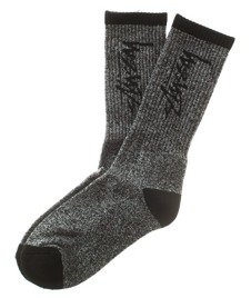 Stussy-Stock Socks Skarpetki Black/White