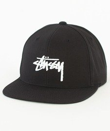 Stussy-Stock Sp17 Snapback Czapka Black