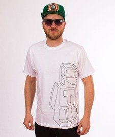 Tabasko-Cube T-Shirt Biały