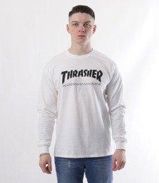 Thrasher-SKATE MAG Longsleeve Biały