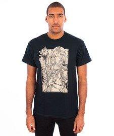 Trash-Husaria T-shirt Czarny