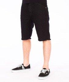 Turbokolor-Shorts Denim Spodnie Black