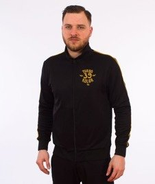 Turbokolor-Track Top Vintage Bluza Black