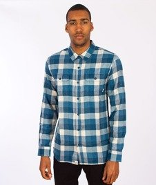 Vans-Alameda Shirt Poseidon/Blue Ashes