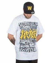 WSRH-Grafitti T-shirt Biały