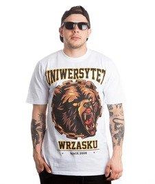 WSRH-Uniwersytet Wrzasku T-Shirt Biały